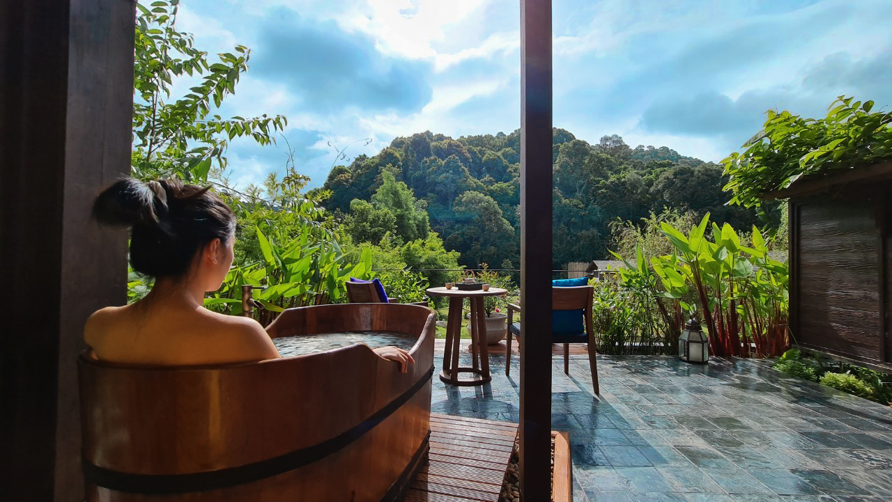 Grand Terrace Suite with Outdoor Onsen1 | Onsen @ Moncham | A Cultural Retreat